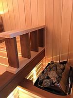 Сборная финская сауна в частном доме для ванной комнаты. Индивидуальное изготовление. Премиум дизайн. Размер = 1,85 х 1,24 х 2,1 м. Адрес: г.... 18