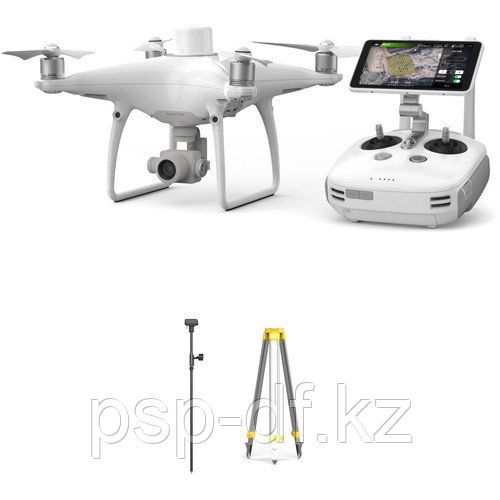 DJI Phantom 4 RTK с D-RTK 2 GNSS Mobile Station Combo