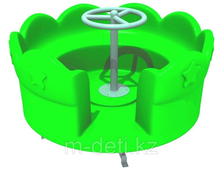 Карусель Ромашка зелёная HD115 HUADONG