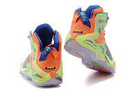 Кроссовки Nike LeBron XII (12) Orange Green Elite Series (40-46), фото 5