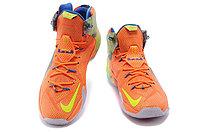 Кроссовки Nike LeBron XII (12) Orange Green Elite Series (40-46), фото 3