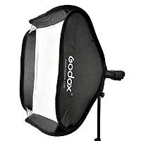 Софтбокс (рассеиватель) Godox 60х60 SFUV6060 Bowens для накамерных вспышек, фото 1