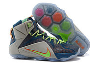 Кроссовки Nike LeBron XII (12) Blue Orange Elite Series (40-46), фото 1