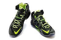 Кроссовки Nike LeBron XII (12) Black Green Elite Series (40-46), фото 3