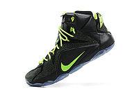 Кроссовки Nike LeBron XII (12) Black Green Elite Series (40-46), фото 4