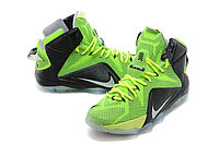 Кроссовки Nike LeBron XII (12) Lime Green Elite Series (40-46), фото 3