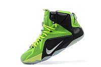 Кроссовки Nike LeBron XII (12) Lime Green Elite Series (40-46), фото 4