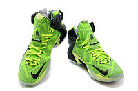 Кроссовки Nike LeBron XII (12) Lime Green Elite Series (40-46), фото 2