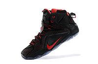 Кроссовки Nike LeBron XII (12) Black Red Elite Series (40-46), фото 4