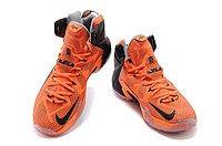 Кроссовки Nike LeBron XII (12) Black Orange Elite Series (40-46), фото 3