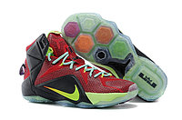 Кроссовки Nike LeBron XII (12) Red Green Elite Series (40-46)