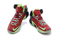 Кроссовки Nike LeBron XII (12) Red Green Elite Series (40-46), фото 3