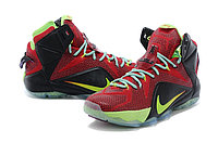 Кроссовки Nike LeBron XII (12) Red Green Elite Series (40-46), фото 2