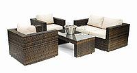 Ротанговая мебель, комплект (2+1+1+1)