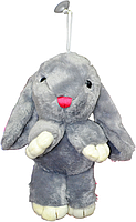 Заяц большой на присоске 3 вида 27 см, фото 1
