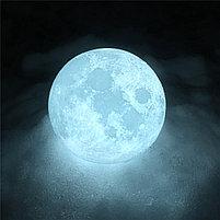 3D Лампа луна, фото 8
