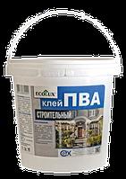 """Клей ПВА """"ECOLUX"""" строительный 1,0 кг (12)"""
