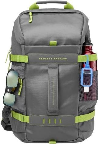 Сумка HP L8J89AA 15.6 Grey Odyssey Backpack, фото 2