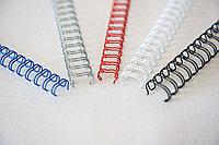 Металлическая переплётная спираль 1-1/4 ( 28,6 мм ) Производство Китай, Ю.Корея