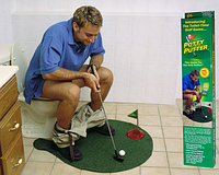 Гольф для туалета-Toilet Golf, фото 1