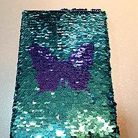 Блокнот с паетками Размеры 14*21см, фото 1