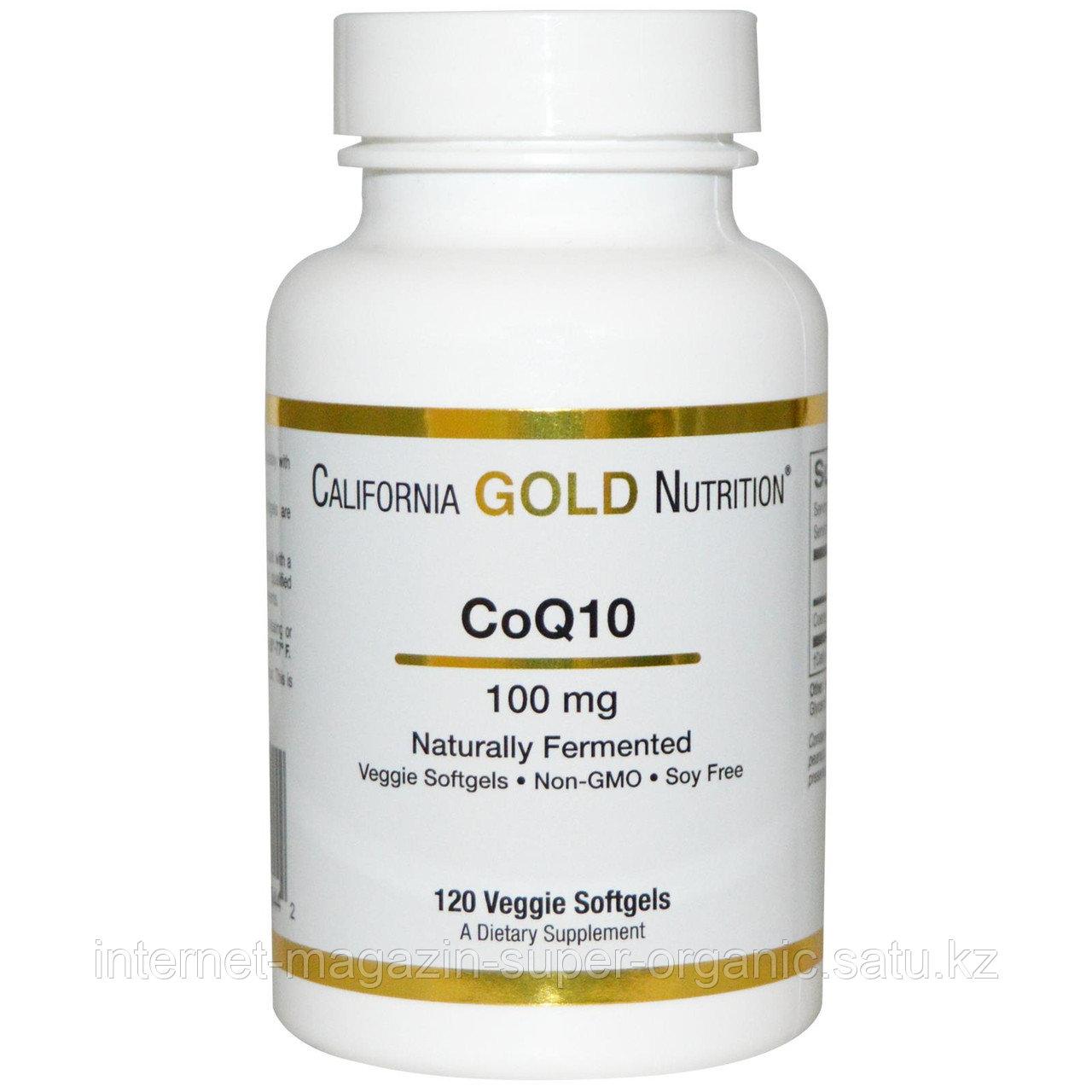Коэнзим Q10, 100 мг, 120 капсул