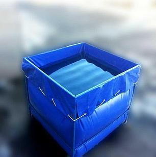Бак из ПВХ ткани с металлическим каркасом 2000 литров