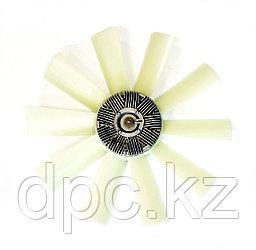 Вентилятор с муфтой D-520 (10 лопастей) для Cummins B3,9 КАМАЗ-4307, ПАЗ, КАВЗ 020003344