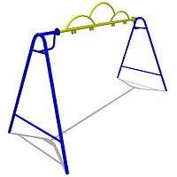Качели «Двойные» большие без подвеса Размеры: 3620 x 1775 x 2375 мм