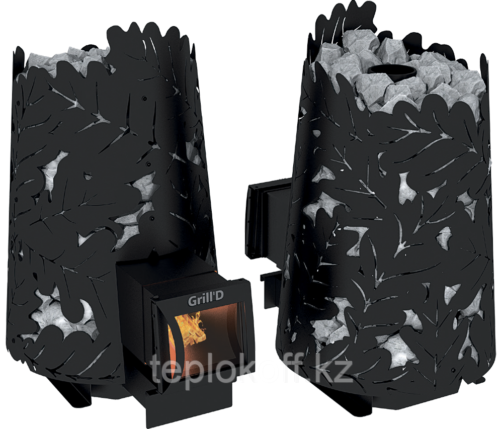 Печь для бани Grill'D Dubrava 180 long black