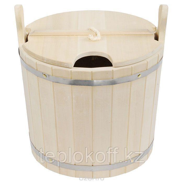 Запарник банный 15 л с крышкой