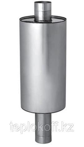 Бак Феррум Комфорт самоварного типа, 72 л, нержавеющий (AISI 201/1,0 мм), ф115 мм, круглый