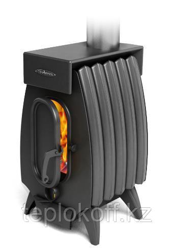 Печь отопительно-варочная ТМФ Огонь-батарея 5 Лайт дровяная антрацит
