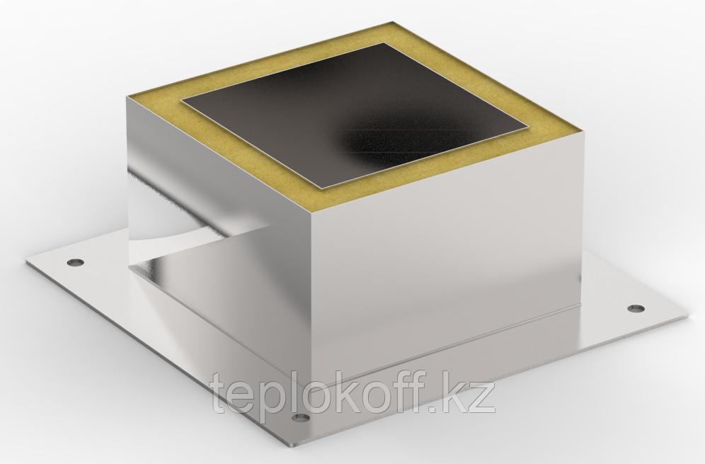 Декоративный ППУ КвТ, ф 115, AISI 439/Оц, 0,5мм/0,5мм