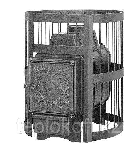 Печь для бани Везувий Легенда Стандарт 16 (ДТ-4) Б/В дровяная
