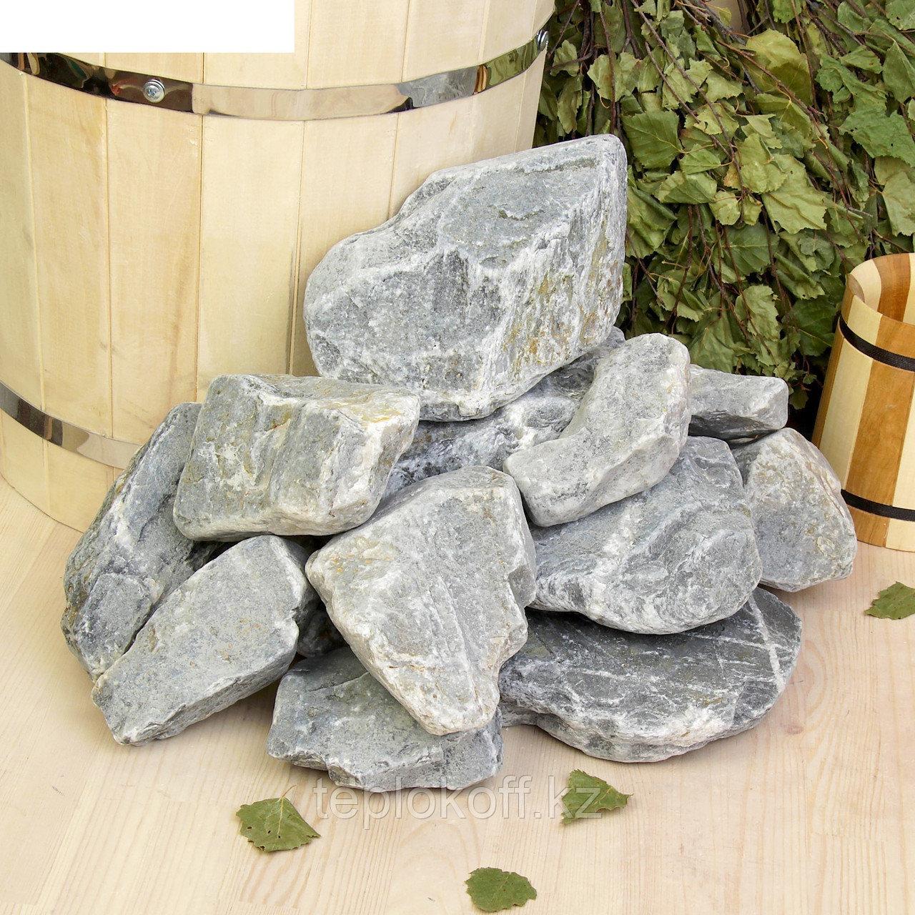 Камень для бани Кварцит 20 кг
