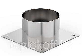 Декоративный ППУ КрХ, ф 130, AISI 439/Оц, 0,5мм/0,5мм