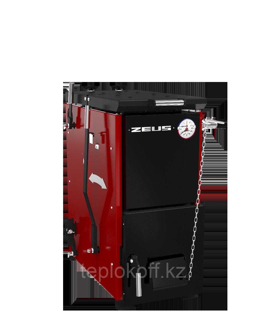 Котел твердотопливный полуавтоматический ZEUS («Зевс») 80 кВт