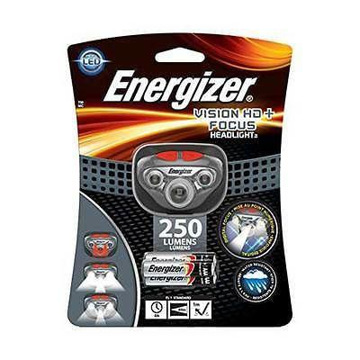 Фонарь налобный Energizer Vision HD + focus new