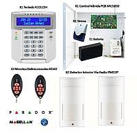 Сигнализация для дома дачи офиса GSM.PARADOX.