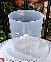 """Пластиковый горшок для орхидей """"Доляна"""". Цвет: прозрачный, 1.6л."""