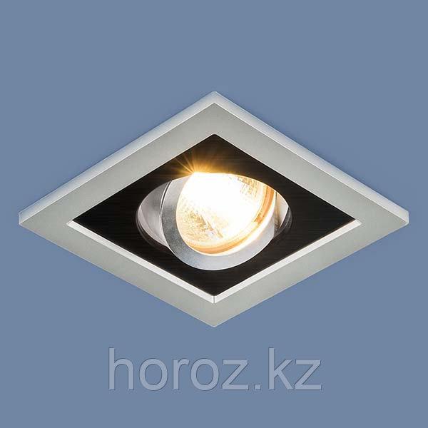 Точечный светильник с поворотным механизмом