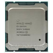 Intel CPU Server 6-Core Xeon E5-2643V4 (3.4 GHz, 20M Cache, LGA2011-3) tray