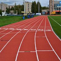 Укладка спортивного покрытия POLYTAN PUR, фото 1