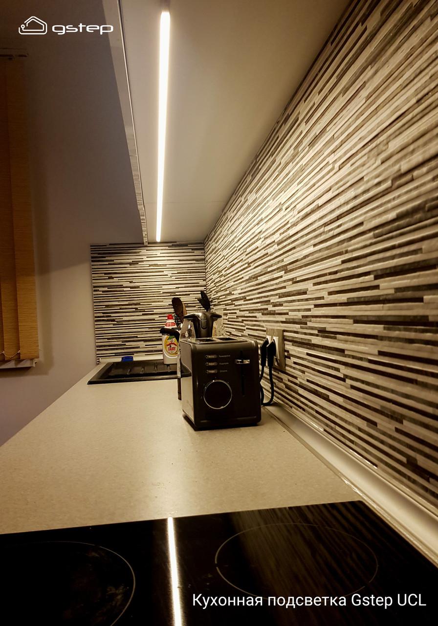 Gstep UCL 100 см сенсорная светодиодная подсветка кухни, столешницы, мебели. Светильники от 30 до 200см.