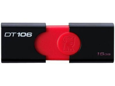 Flash Drive 32GB 3.0 Kingston DT106/32GB черный	, фото 2