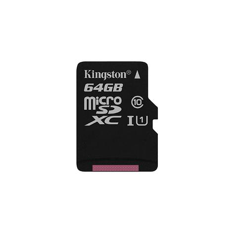 Карта памяти MicroSD 64GB Class 10 U1 Kingston SDCS/64GB	, фото 2