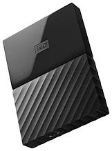 "Внешний жесткий диск HDD Western Digital 1Tb My Passport 2.5""  WDBBEX0010BBK-EEUE 2.5', USB 3.0 Цвет"