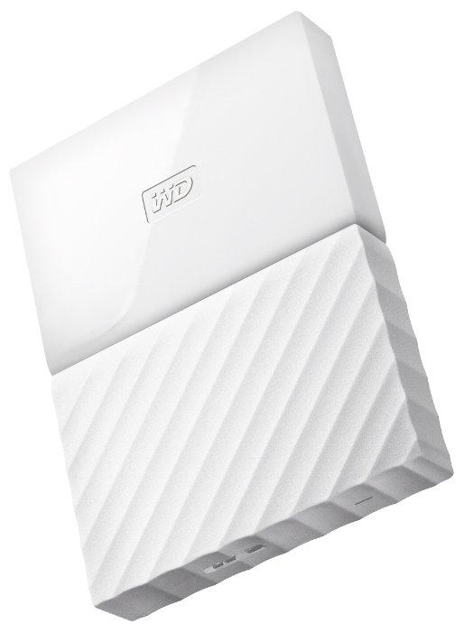 "Внешний HDD Western Digital 1Tb My Passport 2.5""  WDBBEX0010BWT-EEUE 2.5', USB 3.0  Цвет: Белый"