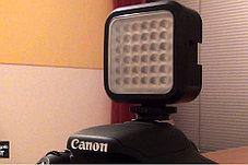 Накамерный прожектор LED-36 с аккумулятором и зарядным ., фото 3